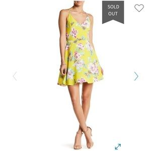 Fit and Flare Printed Woven Dress